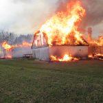 1. Brand i ikke-brandsikret gaard april 16