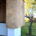 Lodret tækning på ombygget villa på Stevns