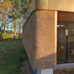 Sidste foto fra ombygget villa, Stevns